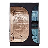 """BloomGrow 36""""x24""""x53"""" 2-in-1 Hydroponic Indoor Grow Tent Room Propagation High Reflective 600D Diamond Mylar Growing Plant w/Water-Resistant Floor Tray (36""""X24""""X53"""" (2-in-1) Lodge Propagation Tent)"""