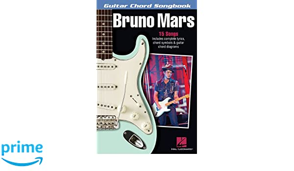 Amazon.com: Bruno Mars - Guitar Chord Songbook (Guitar Chord ...