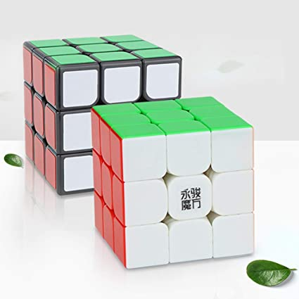 Alician Smooth Speed Cube 3x3 Magnetic Magic Cube 5.6cm