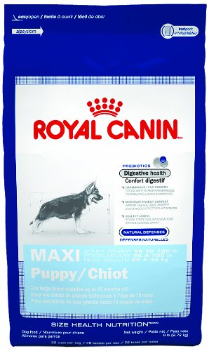 Royal Canin Maxi Puppy, Dry Dog Food Formula, 35-Pound Bag
