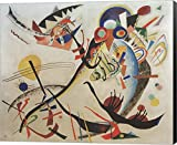 Blue Segment, 1921 by Wassily Kandinsky Canvas Art Wall Picture, Museum Wrapped with Black Sides and sold by Great Art Now, size 22x18 inches. This canvas artwork is popular in our Art by Room, Modern Art, Mantelpiece Art, Art by Venue, Office Art, L...