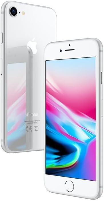 Apple iPhone 8 64GB - Plata - Desbloqueado (Reacondicionado)