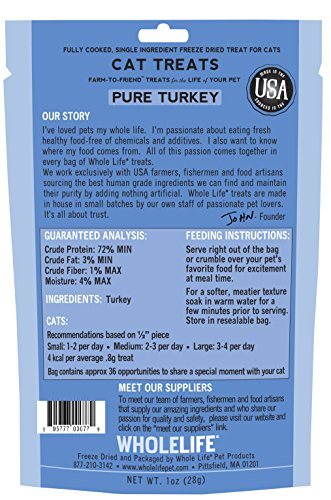 Whole-Life-Pet-Single-Ingredient-USA-Freeze-Dried-Turkey-Treats-for-Cats-1-Ounce