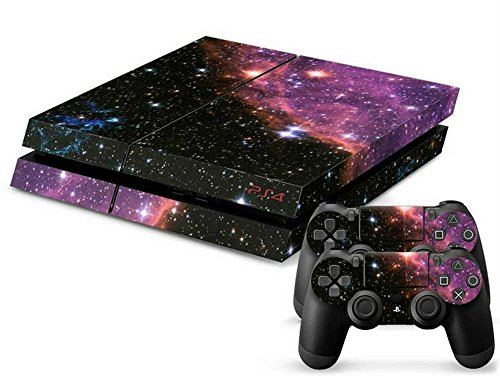 MODFREAKZ™ Console and Controller Vinyl Skin Set - Galaxy Star Out Space for Playstation 4