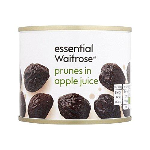 Prunes in Fruit Juice essential Waitrose 215g - Pack of 6