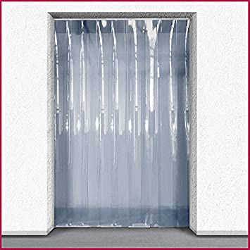 Plastic Door Strips >> Pvc Strip Curtain Kit Ideal For Personnel Door Chiller 1m X 2m