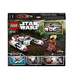 LEGO-Star-Wars-Microfighter-Y-Wing-della-Resistenza-con-la-Minifigure-di-Zorii-Bliss-con-2-Pistole-Blaster-Set-di-Costruzioni-per-Bambini-6-anni-Appassionati-e-Collezionisti-75263