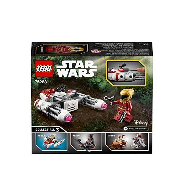 LEGO Star Wars - Microfighter Y-Wing della Resistenza con la Minifigure di Zorii Bliss con 2 Pistole Blaster, Set di… 6 spesavip