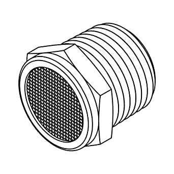 Tompkins BV-08 Pipe Fitting, Breather Vent Plug, 1/2-14