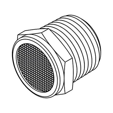 Tompkins Bv 08 Pipe Fitting Breather Vent Plug 12 14 Brass