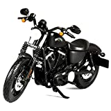 1:12 Sports Version 883 Die-Casting Motorcycle, Simulation Alloy Proportional Model Car, Pull Back Toy Car Model, Car Decoration, Motorcycle Collector
