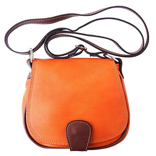 Shoulder Bag Type B024 Orange-brown Saddle