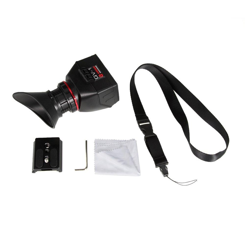 Kamerar qv-1/LCD Viewfinder for Bmpcc Blackmagic Pocket Cinema Camera