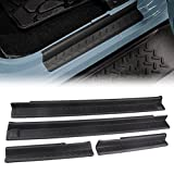 Automotive : MINGLI Front and Rear Entry Guards Door Entry Sill Plate Protectors For 2007-2016 Jeep Wrangler