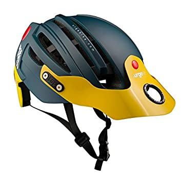 Urge Endur-O-Matic 2 Casco Mixta, Color Azul/Amarillo, tamaño