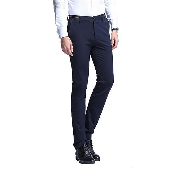 WYX Pantalones De Vestir para Hombre De Moda Pantalones ...