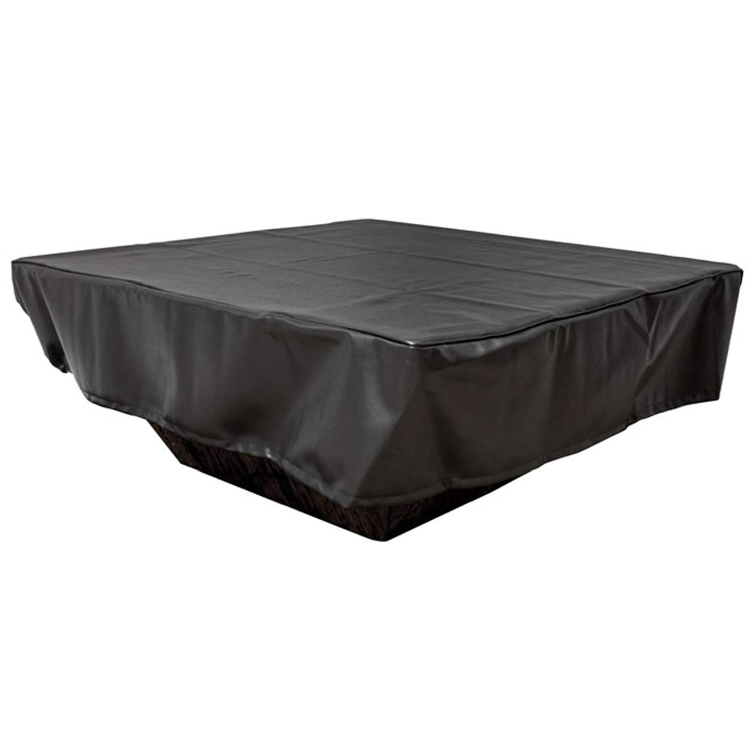 Hearth Products Controls (HPC Black Vinyl Fire Pit Cover (FPC-60SQ), Square, 60x60-Inch by Hearth Products Controls
