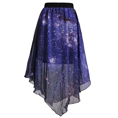 saym-women-pleated-chiffon-galaxy-cosmic-digital-printed-skirts