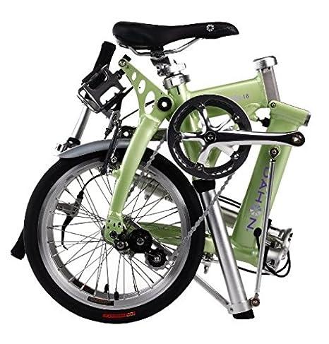 Dahon Jifo 16 - Bicicleta (plegable, aluminio, 40,6 cm), color verde: Amazon.es: Deportes y aire libre