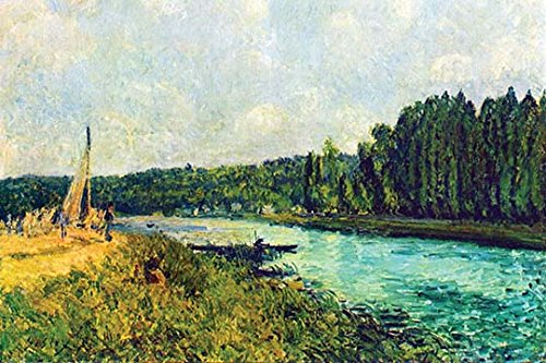- Buyenlarge The Banks of The Oise - Gallery Wrapped 44