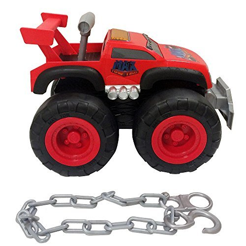 Max Tow Truck 87260-COM-P Max Tow Truck - Turbo Speed Red Truck Vehicle