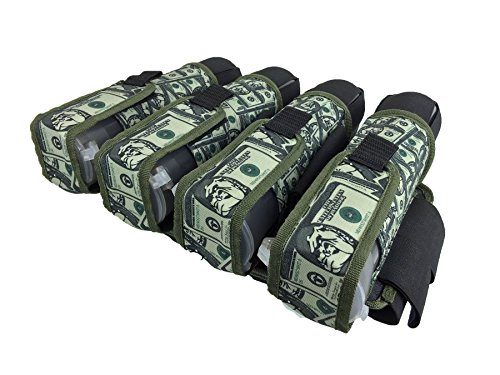 Maddog Sports Money Pro Paintball Pod Harness - 4+5