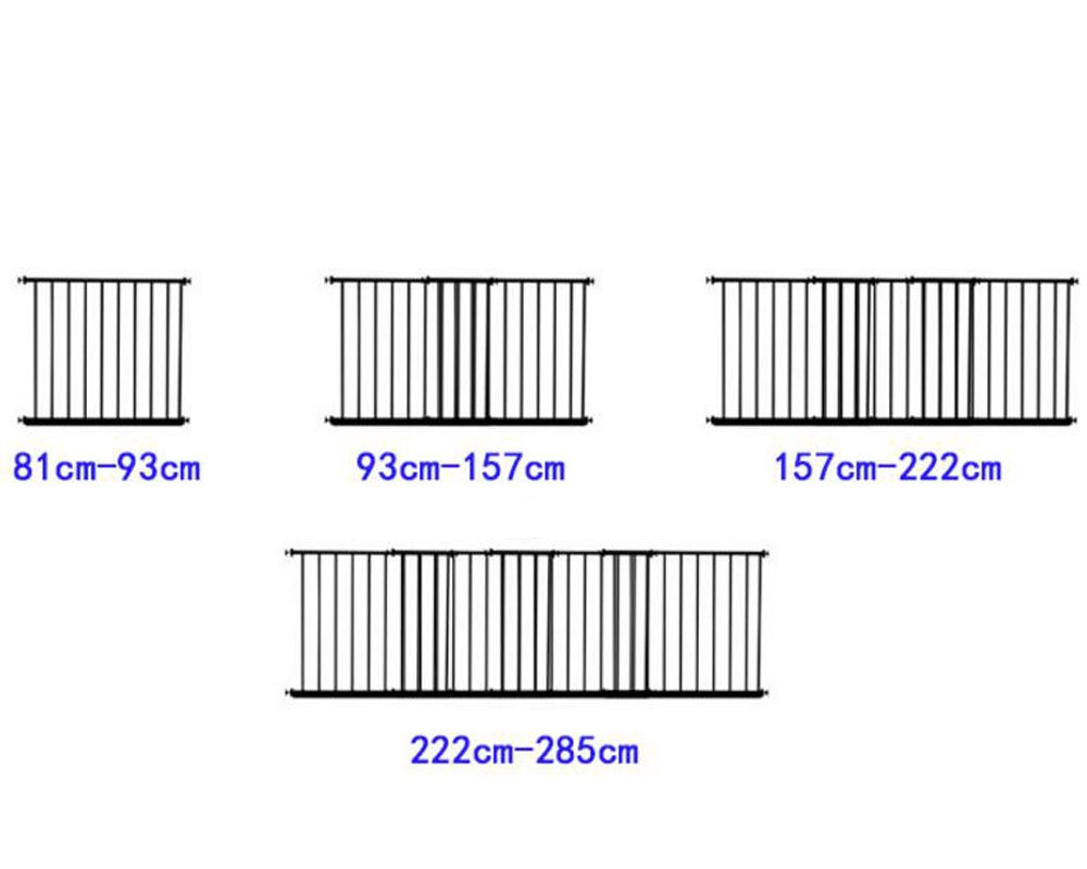 50cm Height 92-156 cm Fairy Baby Internal Window Security Grilles Child Safety Window Guards Steel Baluster Grid Bars White