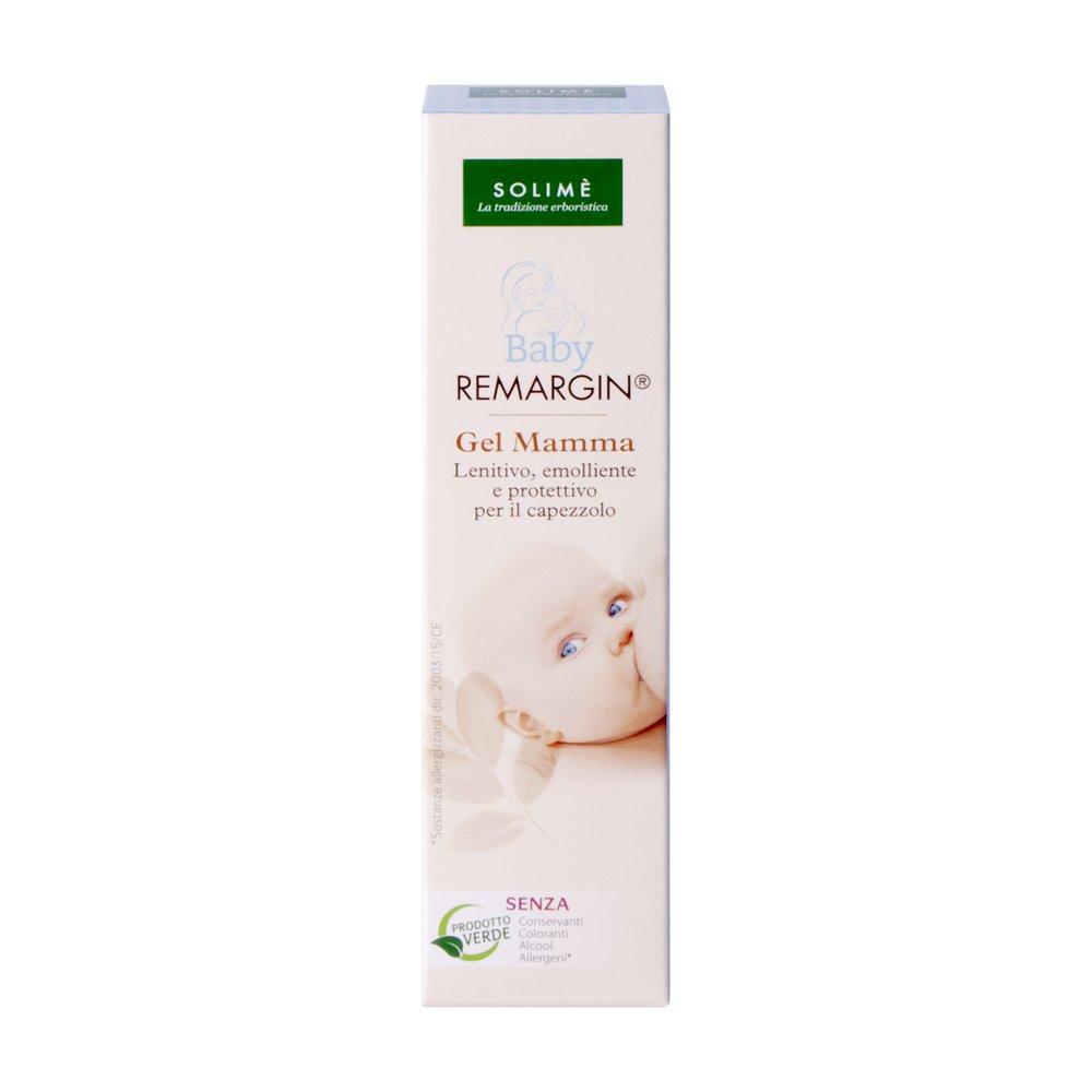 Baby Remargin gel mamma lenitivo per allattamento con Colostro e Miele 30 ml - Prodotto erboristico made in Italy Solimè srl