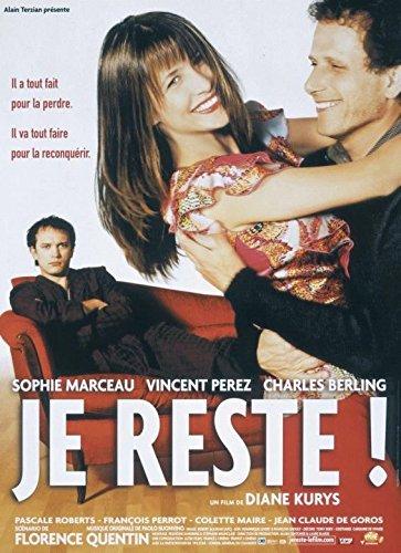 Je resto!-Sophie Marceau-116 cm x 158 Cartel Cinema original ...