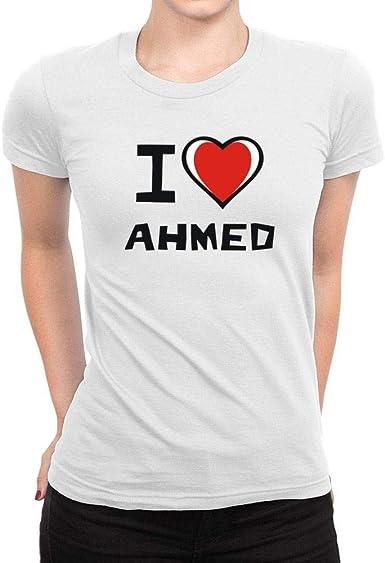 I Love Heart Ahmed T-Shirt