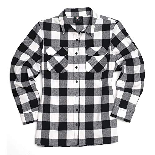 Buy women's plaid flannel shirts