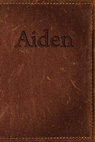 - Aiden: Simulated Leather Writing Journal
