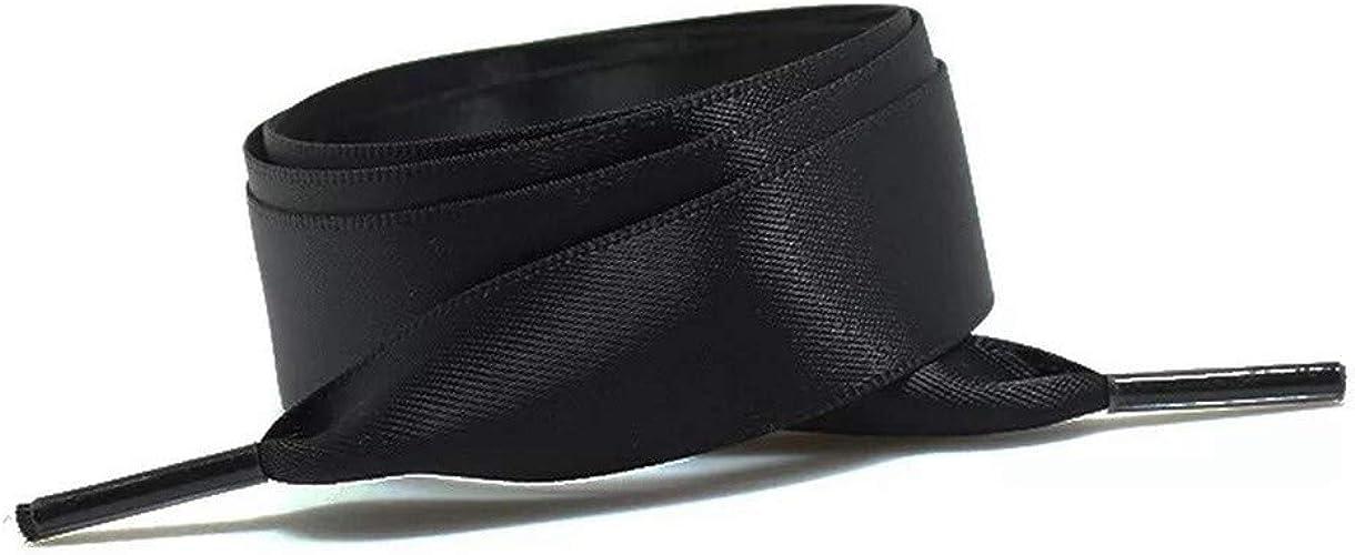 Chiffon Silk Sneaker Fantastic Ribbon Shoes Flat Laces Shoelaces
