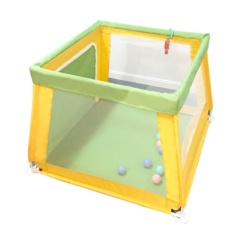 WeNxY ベビーセーフティフェンス、オーシャンボールプール幼児フェンス子供ゲームハウス保護フェンスおもちゃストレージハウス104 * 80 * 70CM 持ち運びが簡単 (サイズ さいず : 104*80*70CM) 104*80*70CM  B07H2GCKGN