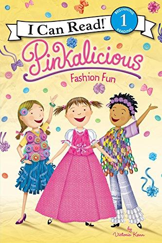 Pinkalicious: Fashion Fun (I Can Read Level 1) [Victoria Kann] (Tapa Blanda)