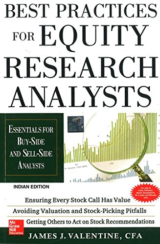 Best Practices for Equity Research Analysts : Essentials for Buy-Side and Sell-Side Analysts ()