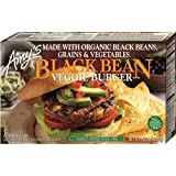 Amys Organic Black Bean Vegetable Burger, 10 Ounce -- 12 per case.