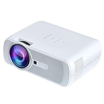 400c8f07b Yuntab BL80 Projektor Full HD 1080P Mini LED Projektor portable Upgrade  Beamer 1200 Lumen 20000 mit