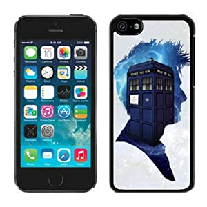 iPhone 5C Case,Dr Who For iPhone 5C Black Case Cover