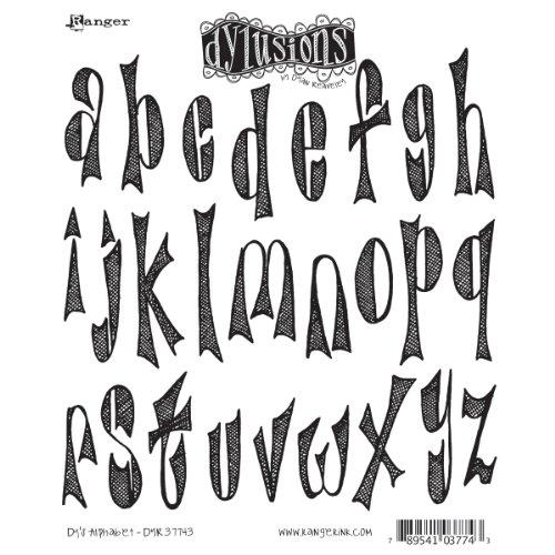 Alphabet Cling Stamp - 9