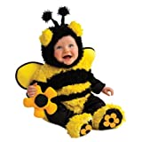 Rubies Baby Costume, Noah's Ark Buzzy Bee Romper, Yellow, 12-18 Months
