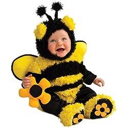 Rubie's Costume Noah's Ark Buzzy Bee Romper Costume, Yellow, 6-12 Months