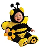 Rubie's Costume Noah's Ark Buzzy Bee Romper Costume, Yellow, 6-12 Months