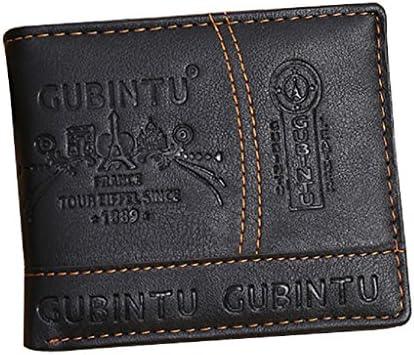 BEAUTYVAN HOT!Men Paris LeatherWallet Fashion Men Paris Leather Card Cash Receipt Holder Organizer Bifold Wallet Purse