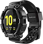 SUPCASE [Unicorn Beetle Pro] Series Case para Galaxy Watch Active 2, capa protetora robusta com pulseiras para