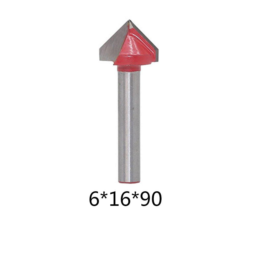 UE /_ hozly 3.175/x 2/x 15/mm dos flautas recto fresa cortadores de madera CNC Router Bit 10/unidades