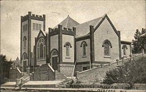 Methodist Episcopal Church Medford, Wisconsin Original Vintage - Stores Medford