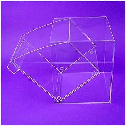 Faberplast Caja Abatible, Metacrilato, 30x31x30 cm