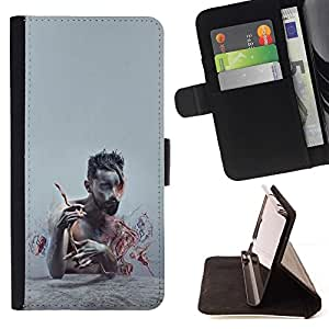 Momo Phone Case / Flip Funda de Cuero Case Cover - Patrón Puma Rosa Piel animal - Sony Xperia M5