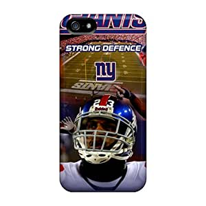 JonathanMaedel Iphone 5/5s Shock Absorbent Hard Phone Case Support Personal Customs Realistic New York Giants Pictures [TsX3504kQNJ]